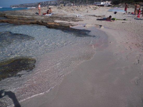 Playa Ses Platgetes: platgeta de Es Calo de San Agusti
