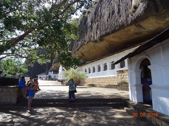 Dambulla, Sri Lanka: The Golden Cave Temples