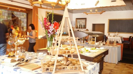 Familien- & Aparthotel Strandhof: Frühstücksbuffet