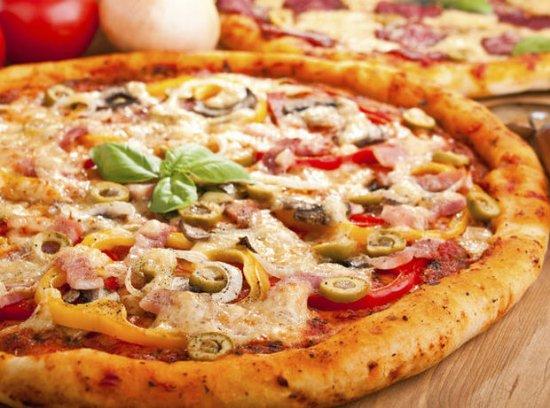 Herentals, Bélgica: pizza