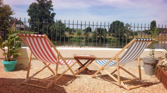 Savonnieres, Francia: Un moment de détente face au Cher