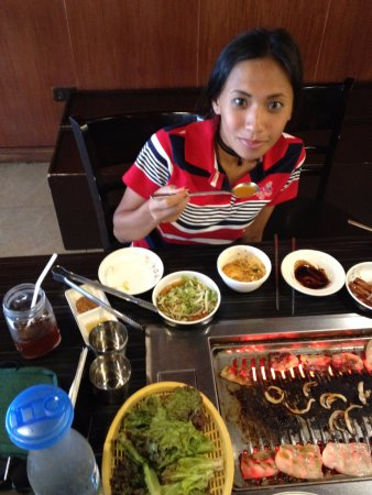 Gue Gue Yakiniku: That was alot of different foods