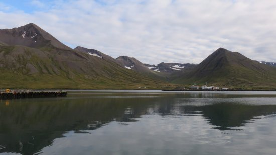 Siglufjordur, Islândia: View from the bay side rooms
