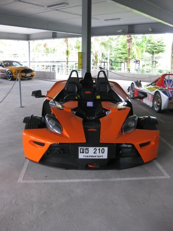 A Futuristic Sportcar Ktm X Bow Picture Of Nong Nooch Tropical
