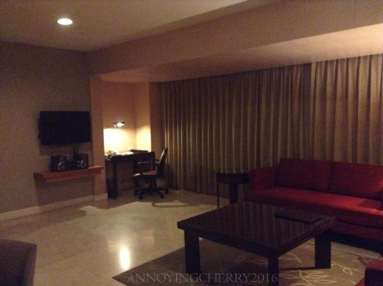 The Linden Suites: main living area