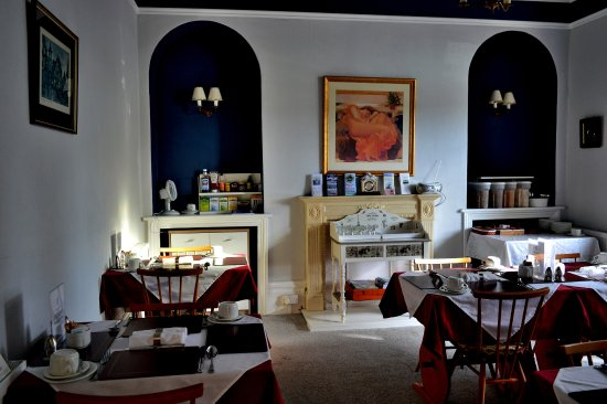 The Dunedin Guest House : breakfast lounge