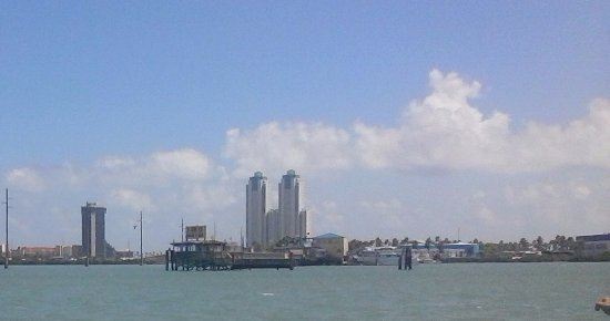 This is Pier 19 from the Bay...set the bow for the Pier 19.