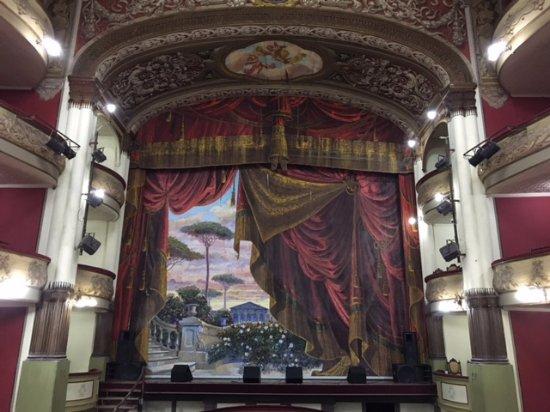 Salto, Ουρουγουάη: Cortina do Palco