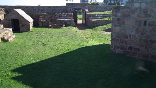 Fort Frederick: Maintained lawn