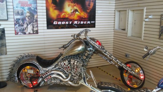 Ghost Rider bike - Picture of Motorcyclepedia Museum ...