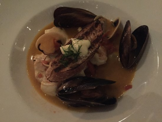 Rockpool Bar & Grill: Seafood stew