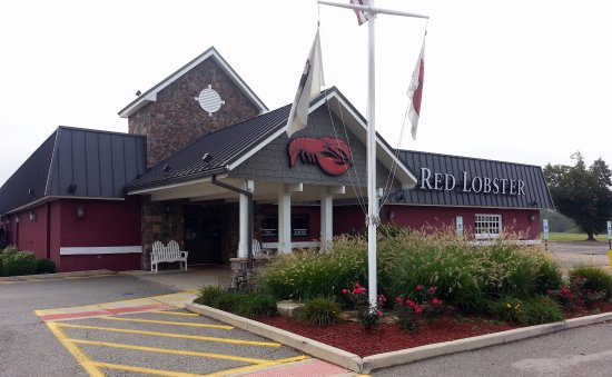 Entrance to Red Lobster