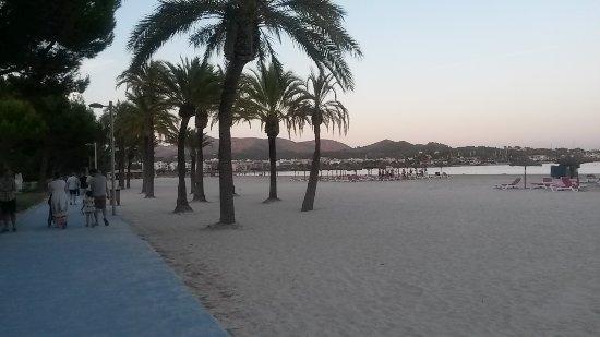 Hotel Aluasoul Alcudia Bay: Alcudia Beach