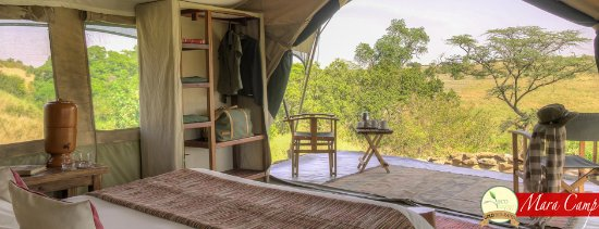 Kicheche Mara Camp tent view