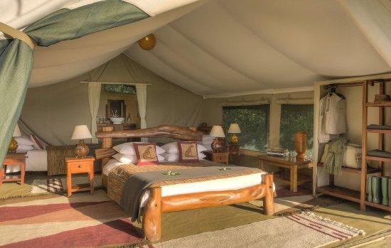 Kicheche Mara Camp : Kicheche Mara family quad tent