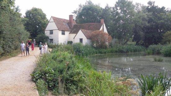 East Bergholt, UK: the scene of 'The Haywain'