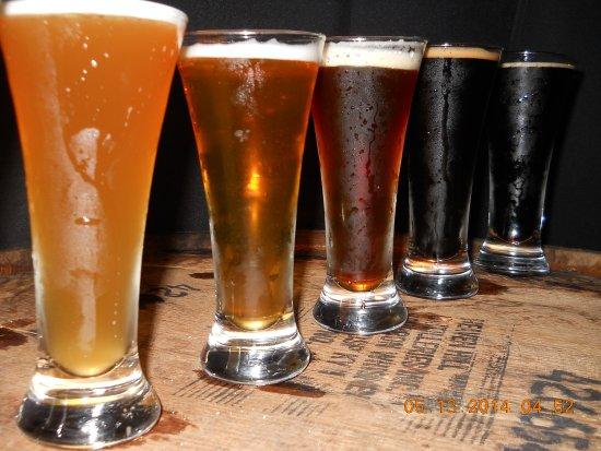 Flight Of Hopvine Brewing Company Beer