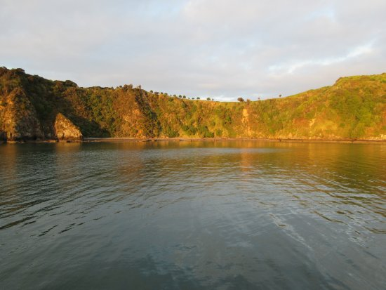 Paihia, New Zealand: Abendstimmung