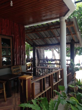 Big Fish Dive Resort: Il balcone