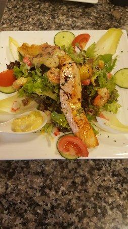 Mondorf-les-Bains, Luxemburgo: Salade de la mer