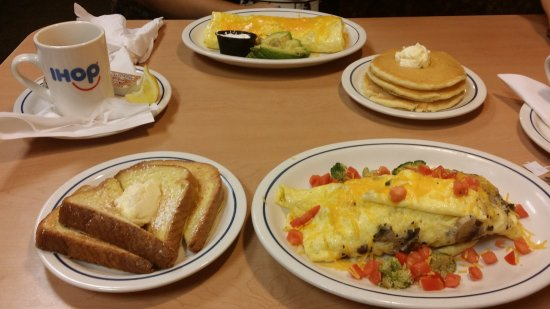 IHOP: Omelette and French Toast