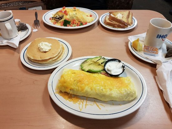 IHOP: Omelette and Pancake