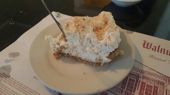 Walnut Hills Restaurant: This Coconut Cream Pie... is AMAZING!!!