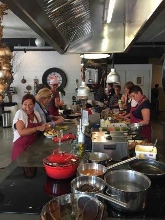 Hilvarenbeek, Nederland: We hebben gekookt en genoten met ons D.E team!!!  hans , Karin super bedankt voor alle gezelligh