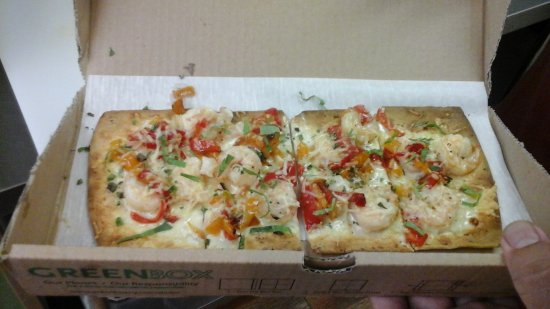 North East, Pensilvania: Shrimp Parmesan Flatbread