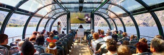 Zamora, Spanyol: Inmersión seguida en directo por los pasajeros a bordo © Europarques-EBI