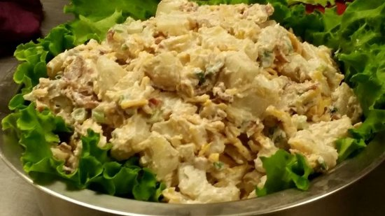 North East, PA: Loaded Baked Potato Salad