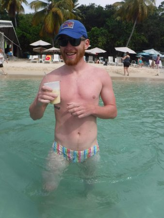 Water Island, St. Thomas: Beach boy!