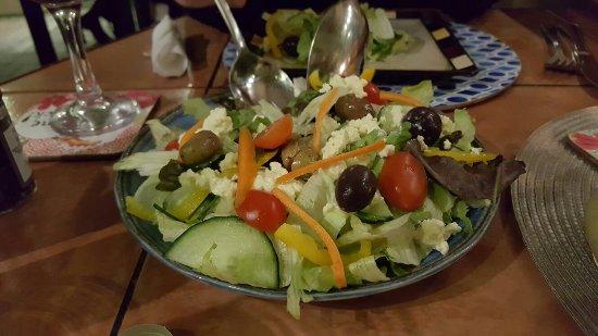 Secret Garden Bistro: We enjoyed your Pizza. Keep on...