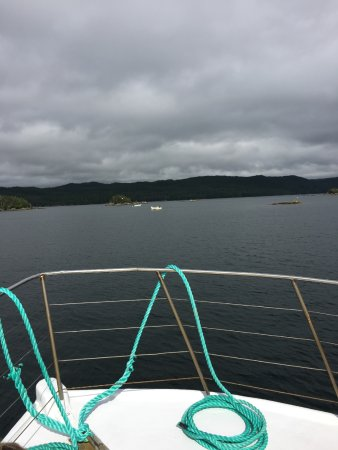 Woody Island, Canada: On the boat tour