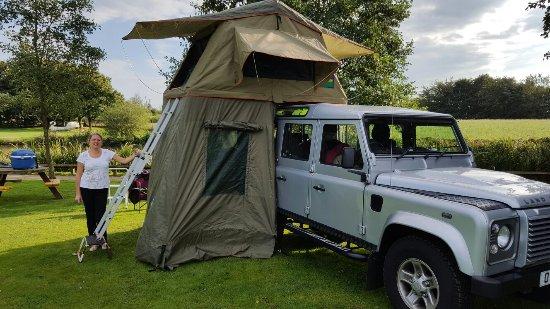 Cheadle, UK: Hales Hall Caravan & Camping Park