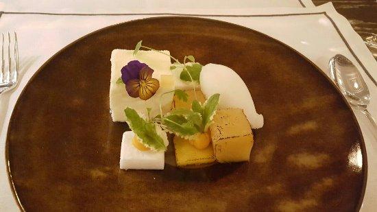 Coconut mousse dessert