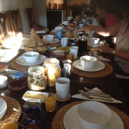 Pitres, Hiszpania: Breakfast at Casa Ana