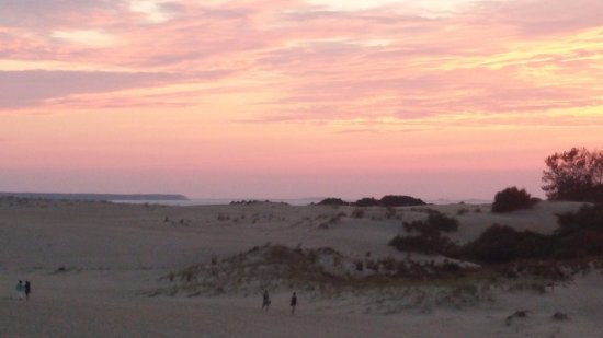 Jockey's Ridge State Park: Sound in the background