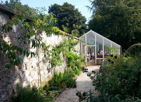 Scorton, UK: A greenhouse but surprisingly cool, even on a hot day