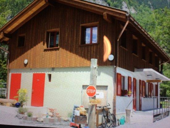 Klöntal, Suiza: Camping Vorauen Hinten am See
