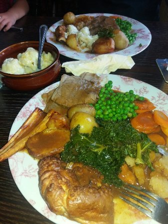 Lovely Sunday lunch