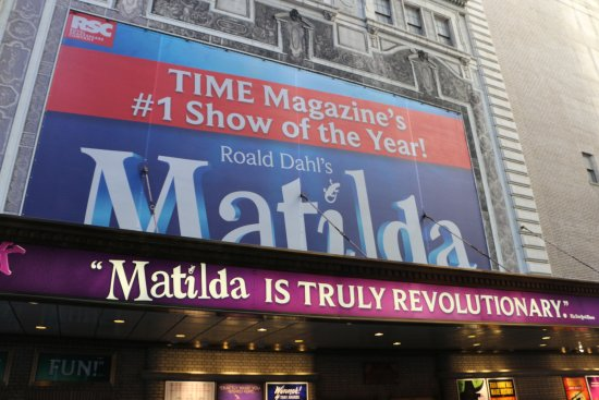 Inside Broadway Tours: Showing of Matilda