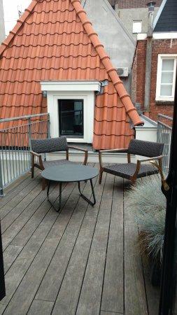 Hotel IX Amsterdam : Very welcomed deck