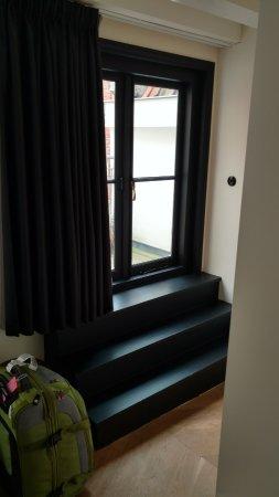 Hotel IX Amsterdam : Small door to the deck