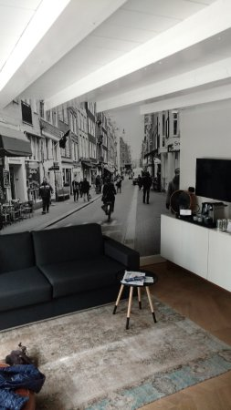 Hotel IX Amsterdam : Livingroom