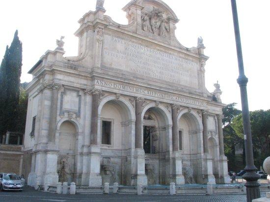 Fontaine au janicule foto di colle del gianicolo roma tripadvisor - Finestra su trastevere ...