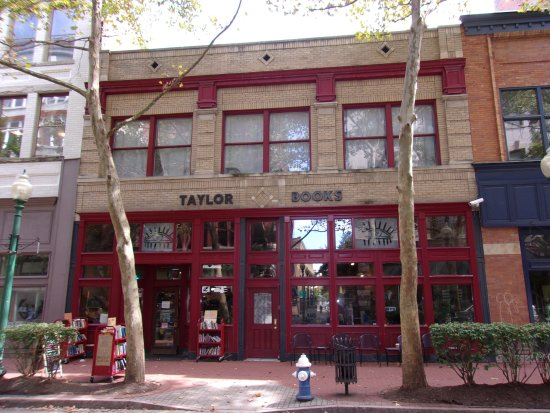 Taylor Books Cafe: From across the street
