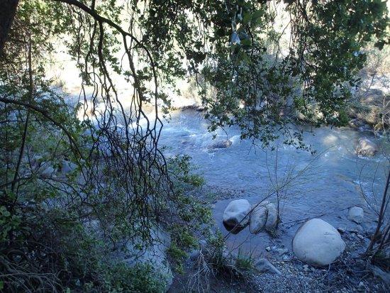 Pirque, Chile: Por fin el rio