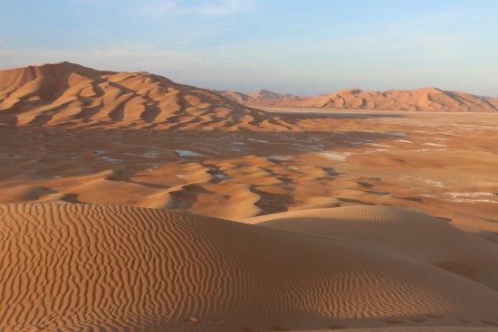 Oman: Morning shadows.