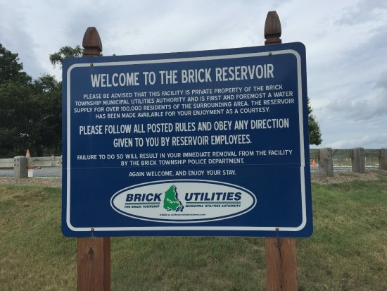 Entrance to Brick Reservoir